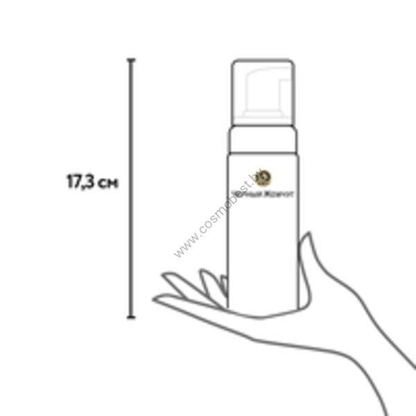 Пенка-мусс для умывания 2в1 для нормальной и комбинированной кожи Чёрный Жемчуг
