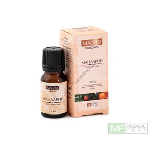 Mandarin 100% essential oil from Medical Fort