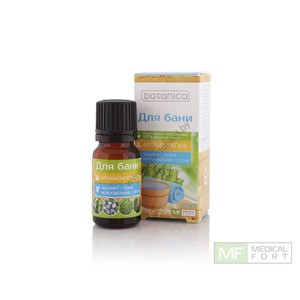"Composition of natural essential oils ""For a bath"" from Medical Fort"