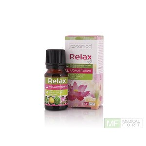 "Composition of natural essential oils ""Relax"" from Medical Fort"