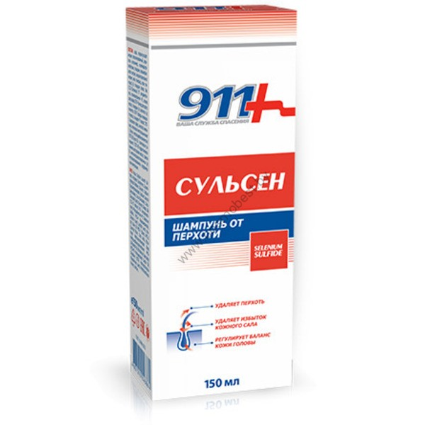 911 Шампунь Сульсен от Твин Текс