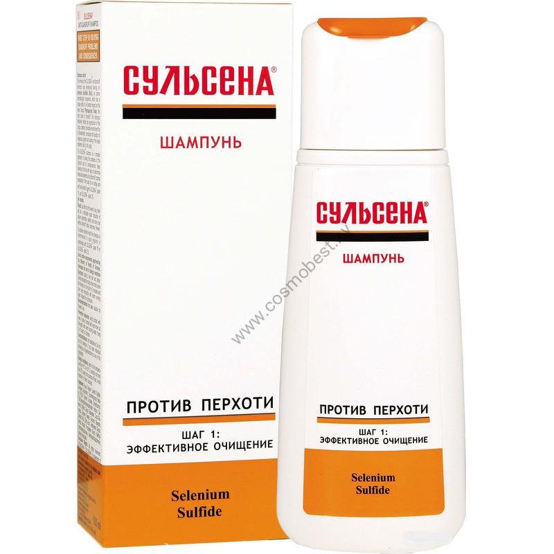 "Шампунь ""Сульсена"" для волос против перхоти флакон 150 мл от Амальгама Люкс"