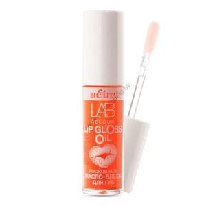 Роскошное масло-блеск для губ 02 Red Peach LAB colour от Белита