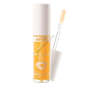 Роскошное масло-блеск для губ 03 Gold Argan LAB colour от Белита