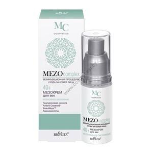 Meso-cream for eyelids Intensive rejuvenation 40+ from Belita