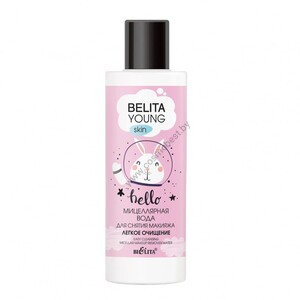"Micellar water for removing make-up ""Light cleansing"" from Belit"