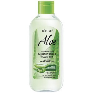 Moisturizing micellar water 3 in 1 for face and skin around the eyes from Vitex
