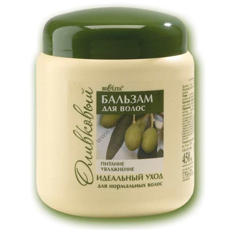 Balm for normal hair olive Nourishment & Moisturizing from Belita