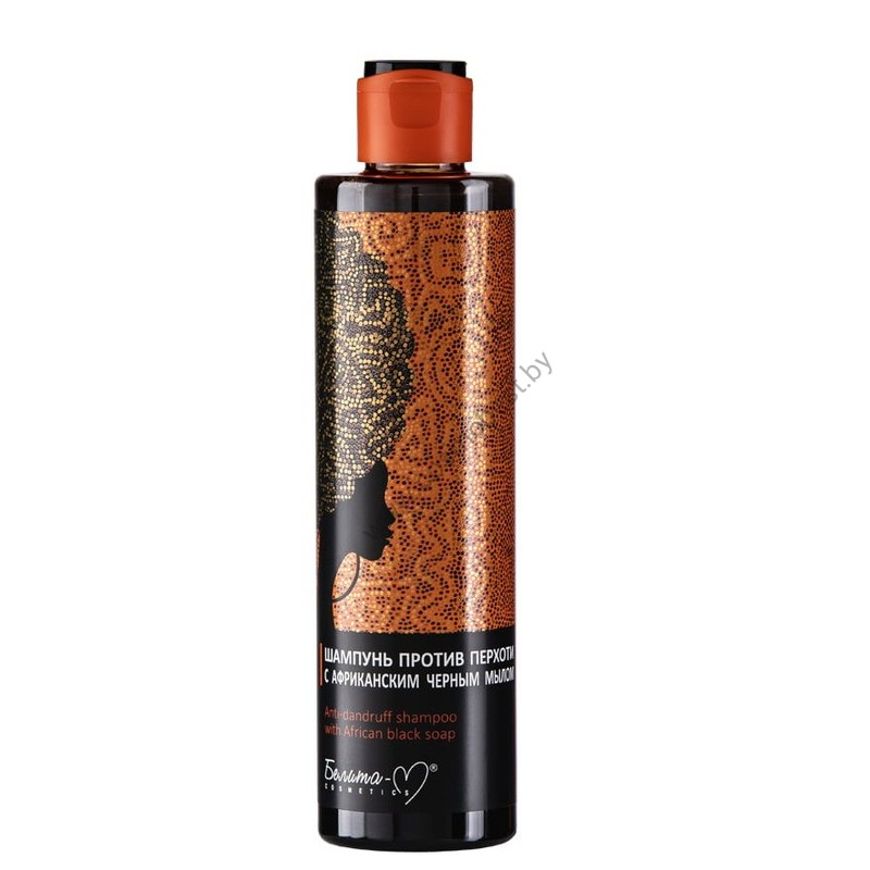 Шампунь против перхоти с африканским черным мылом от Белита-М