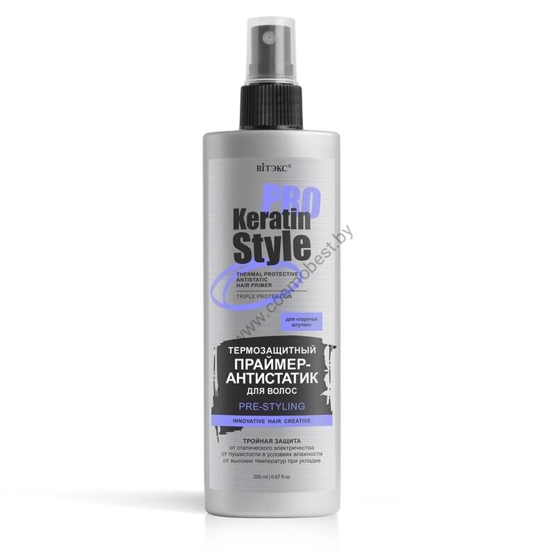 Термозащитный праймер-антистатик для волос от Vitex