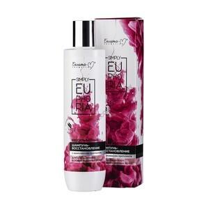 Бессульфатный шампунь-восстановление с комплексом протеинов для окрашенных и поврежденных волос Simply Euphoria от Белита-М