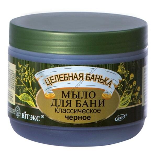 Мыло для бани черное классическое от Витэкс
