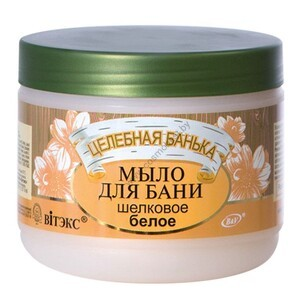 Bath soap white silk from Viteks