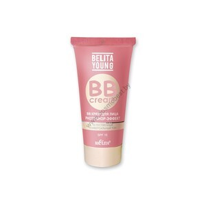 BB face cream PHOTOSHOP-effect from Belita