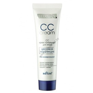 "CC-cream for face ""Color Correction"" Luxury from Belita"