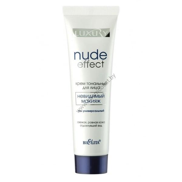 Крем тональный для лица NUDE Effect «невидимый» макияж от Белита