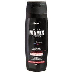 Shampoo for men daily care from Vitex