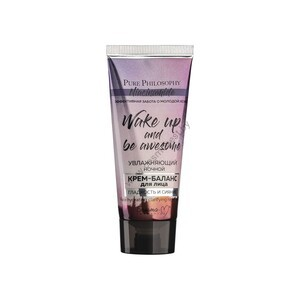"""Moisturizing night cream-balance for the face """"Smoothness and radiance"""" from Belita-M"""