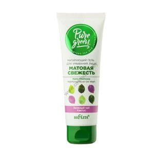 Matte freshness face wash gel from Belita