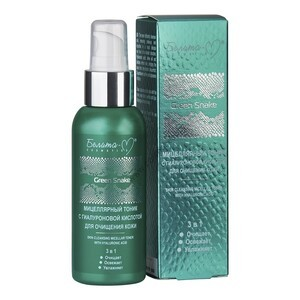 Micellar toner with hyaluronic acid for cleansing the skin Green Snake from Belita-M