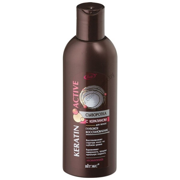 Сыворотка с кератином для волос Глубокое восстановление несмываемая от Витэкс