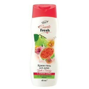 Guava and Hibiscus Shower Cream-Gel with Guava Juice from Vitex