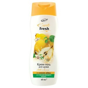 Cream shower gel Quince and Vanilla with quince juice from Vitex