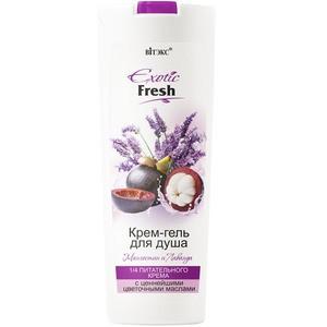Cream shower gel Mangosteen and Lavender from Vitex