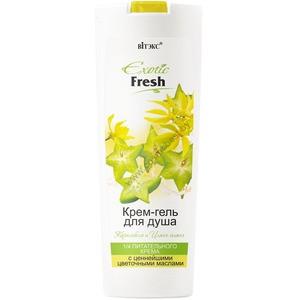 Cream shower gel Carambola and Ylang-Ylang from Vitex