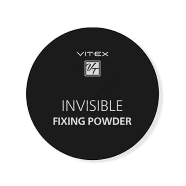 Рассыпчатая пудра для лица VITEX INVISIBLE FIXING POWDER Тон универсальный от Витэкс