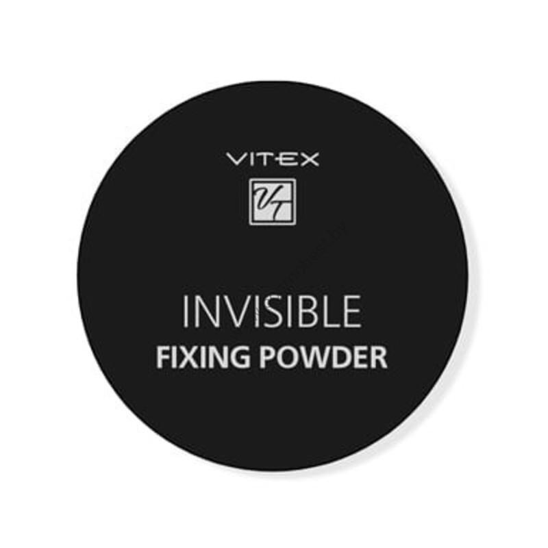 Рассыпчатая пудра для лица VITEX INVISIBLE FIXING POWDER Тон универсальный от Vitex