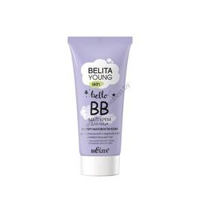 ВВ-matt крем для лица «Эксперт матовости кожи» для нормальной и жирной кожи от Белита