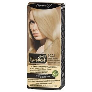 Стойкая крем-краска для волос  тон 10.31 Очень светлый бежевый блондин от Белита-М
