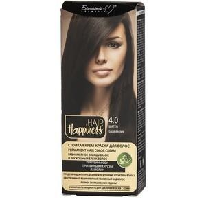 Стойкая крем-краска для волос  тон 4.0 Шатен от Белита-М