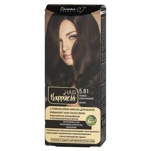 Стойкая крем-краска для волос  тон 5.81 Темно-коричневый от Белита-М