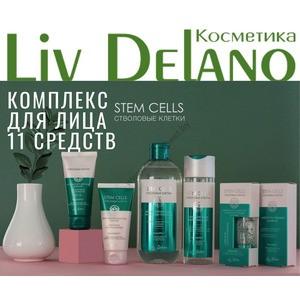 Комплекс для ухода за лицом Stem Cells на основе стволовых клеток мха из 11 средств от Liv Delano