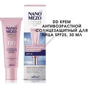DD Крем антивозрастной солнцезащитный для лица SPF25 NANOMEZOCOMPLEX от Белита