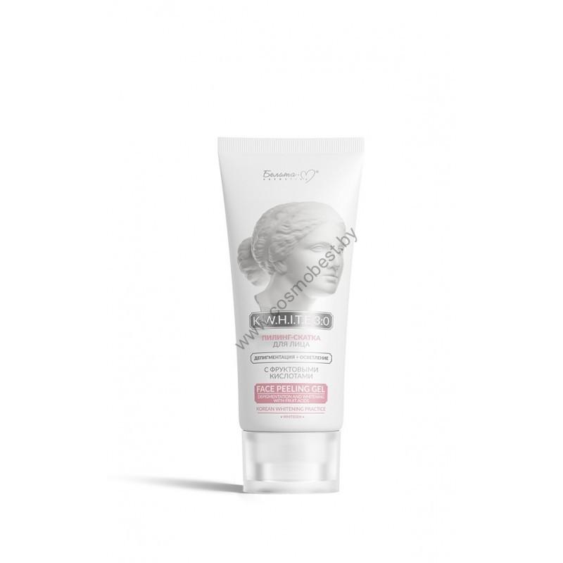 Пилинг-скатка для лица Депигментация+Осветление с фруктовыми кислотами от Белита-М
