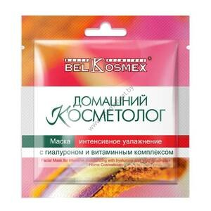 Mask Intensive moisturizing with hyaluron and vitamin complex from Belkosmex