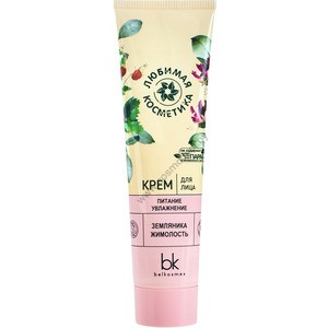"""Face cream """"Nutrition and hydration"""" Favorite cosmetics from Belkosmex"""