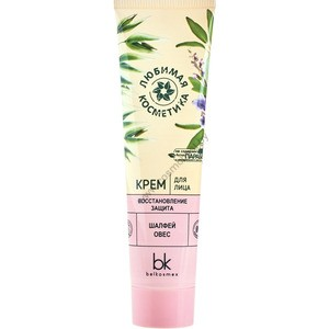 """Face cream """"Restoration and protection"""" Favorite cosmetics from Belkosmex"""