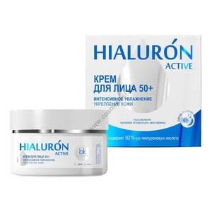 Крем для лица 50+ Интенсивное увлажнение и укрепление кожи от Belkosmex