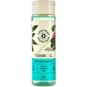 """Toner for the face """"Energy and freshness"""" Favorite cosmetics from Belkosmex"""