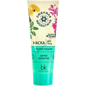 """Face mask """"Deep cleansing"""" Favorite cosmetics from Belkosmex"""