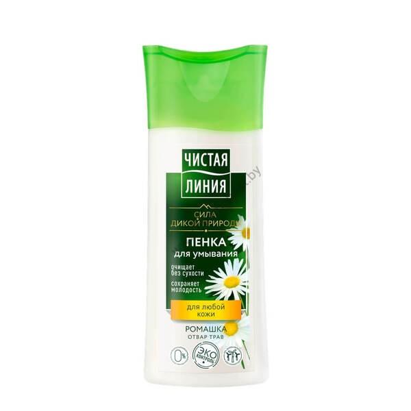 Пенка для умывания для любой кожи на отваре целебных трав Чистая Линия