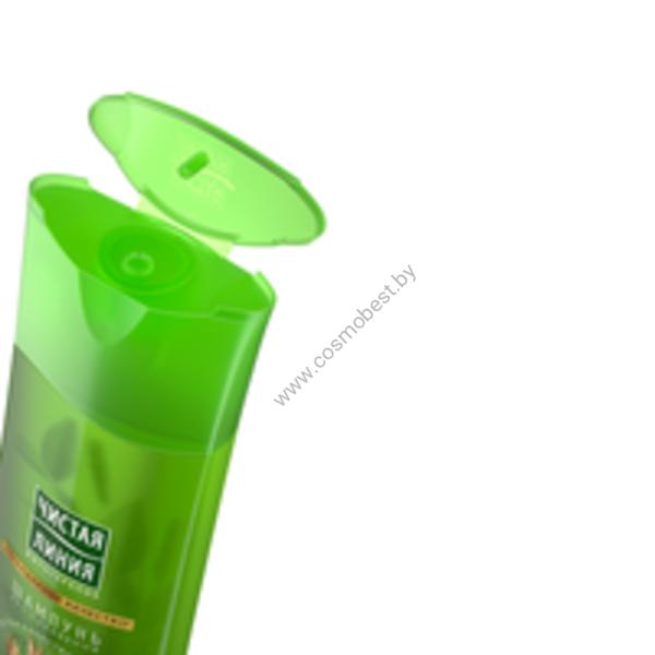 Шампунь «Объём и сила» для тонких и ослабленных волос Чистая Линия