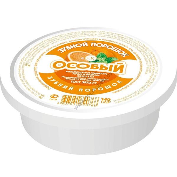 ЗУБНОЙ ПОРОШОК особый с маслом апельсина от Фитокосметик