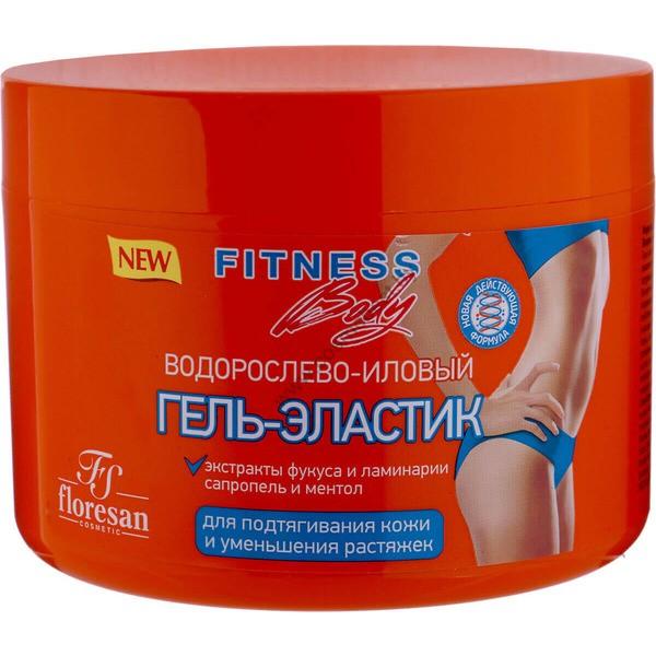 Водорослево-иловый гель-эластик для подтягивания кожи и уменьшения растяжек от Floresan
