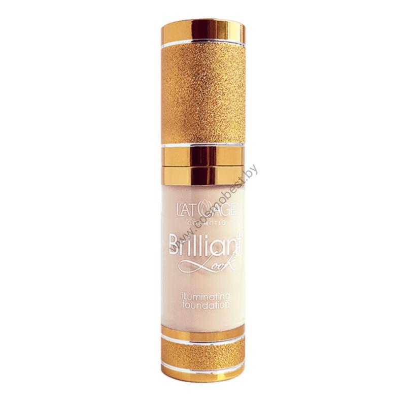Тональный крем Brilliant look от L`ATUAGE cosmetic 300 (фарфоровый) от L'atuage