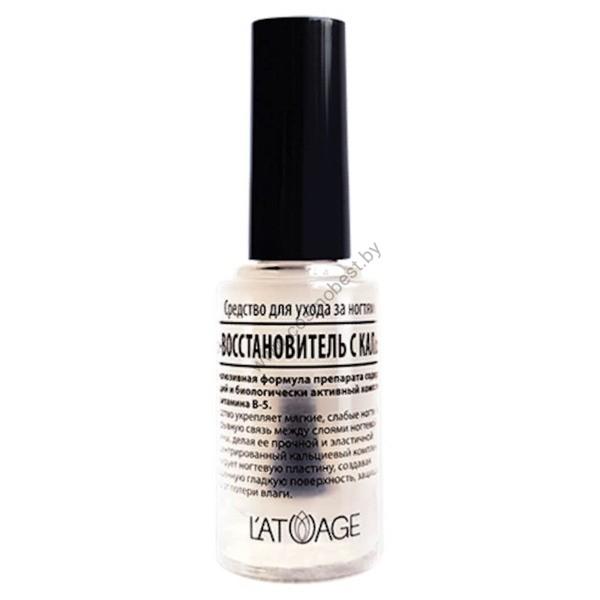 Средство по уходу за ногтями «Гель-восстановитель с кальцием» от Latuage